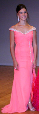 Alexa Ponick - Top Evening Gown Winner