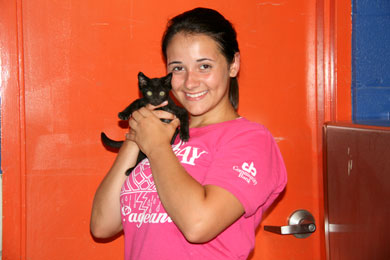 Miss Rain Day at Greene County Humane Society